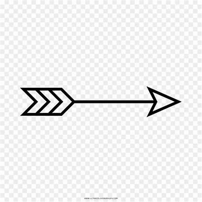 Flecha Desenho Colorear Colorir Dibujo Freccia Arrow