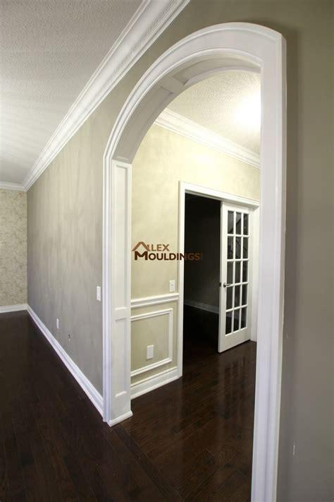 arched panels  trim  doorway archways  homes