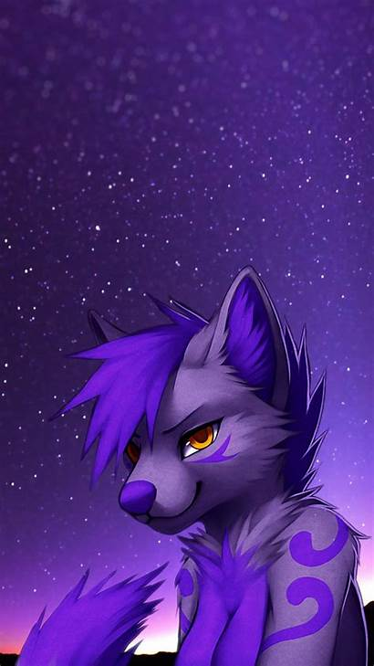 Furry Phone Wallpapers Background Wolf Backgrounds Galaxy