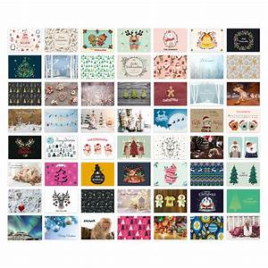Collage Selbst Gestalten : weihnachtskarten postkarten 56 st ck set din a6 ~ A.2002-acura-tl-radio.info Haus und Dekorationen