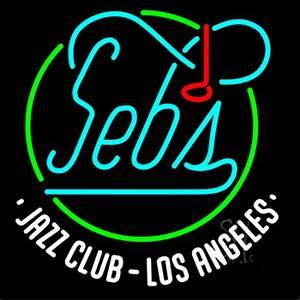 Sebs Jazz Club Los Angeles Neon Sign