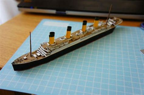 Titanic Boat Builder by Rms Titanic Ver 2 Free Ship Paper Model Download Paper