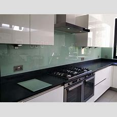 Tuscan Glade Glass Colour Kitchen Splashback By Creoglass