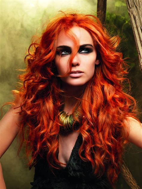 Bright Red Hair The Latest Trends In Womens Hairstyles