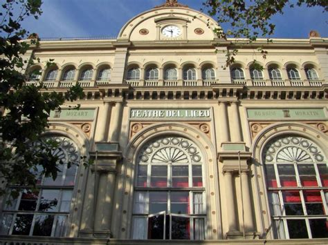 gran teatre del liceu opera house barcelona spain opera