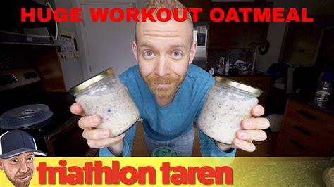 triathlon training nutrition overnight oats  big