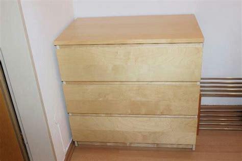 ikea malm kommode ikea malm kommode birke mit 3 schubladen in münchen ikea möbel kaufen und verkaufen über