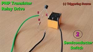 Pnptransistor Based Dc Relay Drive Make