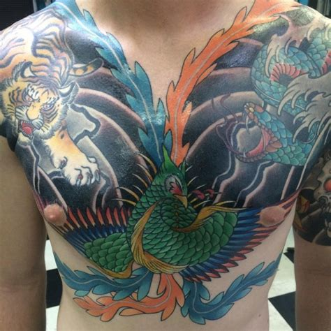 phoenix tattoo designs meanings mysterious bird