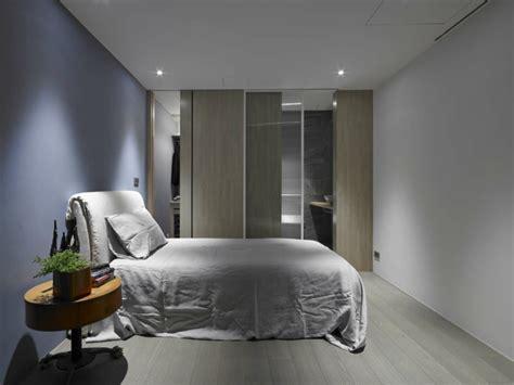 placard cuisine moderne appartement design à l ambiance minimaliste à taipei