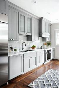 Grey Kitchen Cabinets With Quartz Countertops Grey Kitchen ...