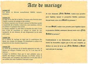 demander un acte de mariage acte de mariage mariage de l 39 ami fritz