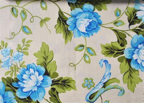 sofa verde floral tecido jacquard imperm floral azul verde tecidos da jo