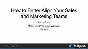 How to Better Align Your Sales and Marketing Teams