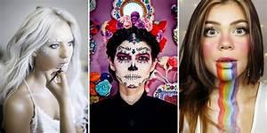 Déguisement Halloween Qui Fait Peur : maquillage halloween 30 mod les vus sur pinterest copier chez soi ~ Dallasstarsshop.com Idées de Décoration