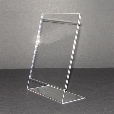 single sided poster display stand