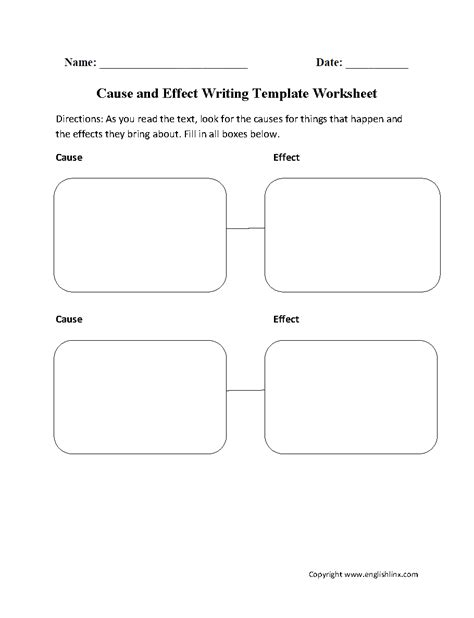 Writing Worksheets  Writing Template Worksheets