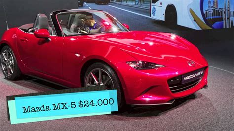 top  cheapest convertibles youtube