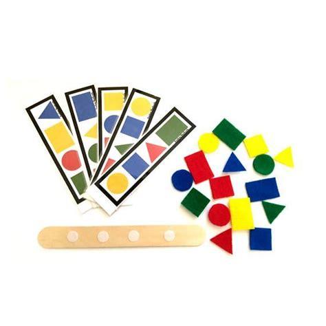felt shapes busy bags montessori toys montessori materials