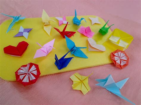 fold  heart  paper  origami japanese