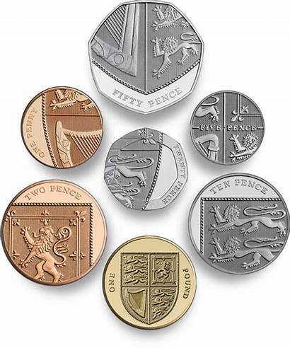 Coins Coin British Mint Designs Money Currency