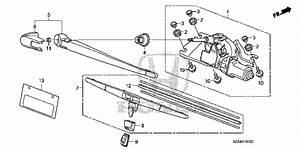 Honda Online Store   2013 Pilot Rear Windshield Wiper Parts