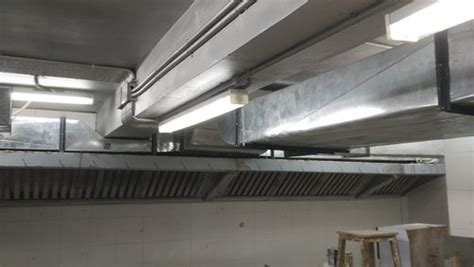 duct fabrication service hotel kitchen exhaust hood