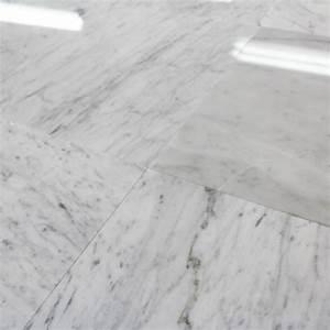 Marbre Blanc De Carrare : carrelage 100 marbre poli blanc carrare lucido piccolo ~ Dailycaller-alerts.com Idées de Décoration