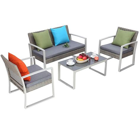 Where Can I Buy Cheap Patio Furniture by Do4u Outdoor Patio Furniture Set Best Cheap Patio Sets