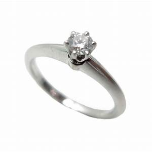 Tiffany Ring Diamant : bague tiffany co setting solitaire t51 diamant ~ Buech-reservation.com Haus und Dekorationen