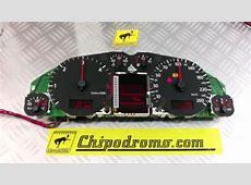 Reparación Comprobación pantalla cuadro Audi A4 YouTube