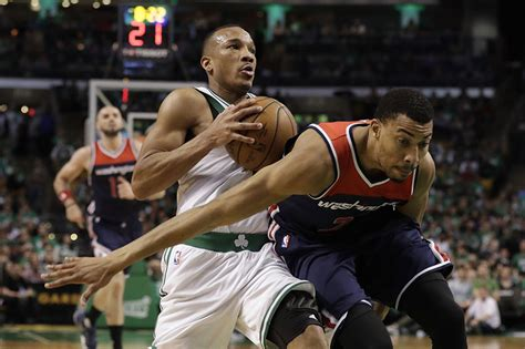 NBA: Bradley shines as Celtics rout Wizards in Game 5 ...