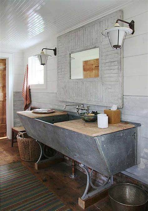 Diy Industrial Bathroom Mirror by 30 Inspiring Rustic Bathroom Ideas For Cozy Home Amazing