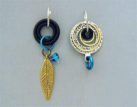 asymmetric circle earrings ea1002 jan craft studio