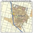 Aerial Photography Map of Turlock, CA California