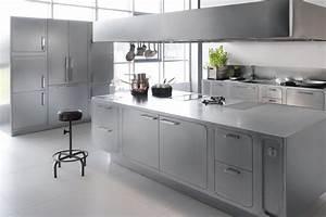 l acciaio inox un materiale perfetto per le cucine di With sicurezza nelle cucine