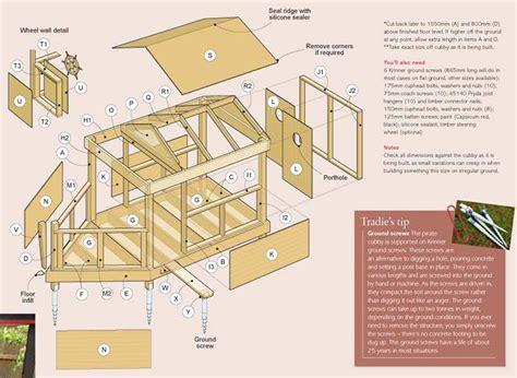 plans for building a house plans to build wooden cubby house plans pdf plans