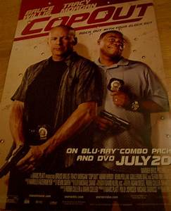 Cop Out movie 2010 promo poster (Tracy Morgan & Bruce ...