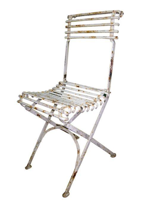 chaises en fer forgé chaise de jardin pliante en métal fer forgé style arras
