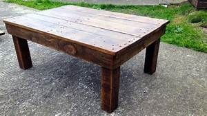 bearwoodwork how to make a coffee table from reclaimed With how to make a reclaimed wood coffee table