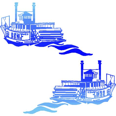 Steamboat Clipart by Steamboat Steamship Original Background Images