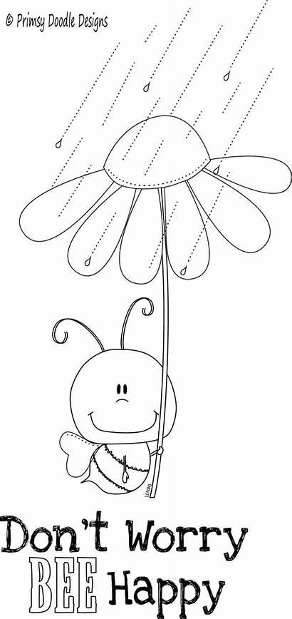Stamps Digital Digi Doodle Happy Designs Coloring