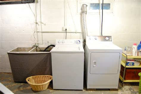basement laundry room ideas 22 basement laundry room ideas to try in your house Unfinished