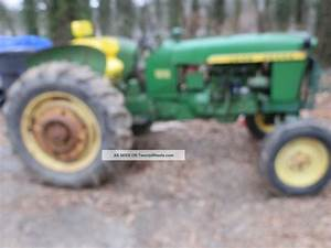 John Deere Tractor 1010 With Live Pto And Power Steering
