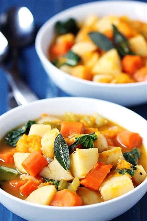 Slow Cooker Vegan Root Vegetable Stew From Gimme Some Oven