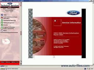 Ford Usa Technical Services 2004