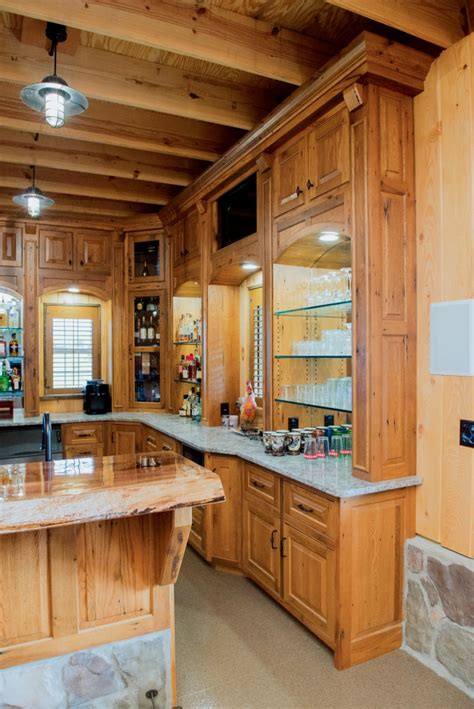 rustic oak kitchen cabinets reclaimed oak bar cabinets sherman ny fairfield custom 5015