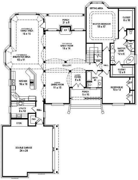 how to floor plans 2 bedroom house plans open floor plan ideas including