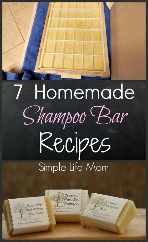 homemade shampoo bar recipes homemade home soap