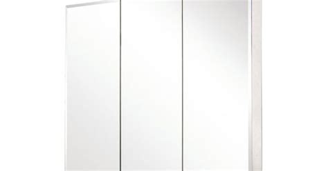 Pegasus Medicine Cabinet Sp4589 by Pegasus Sp4589 31 Inch By 36 Inch Tri View Beveled Mirror